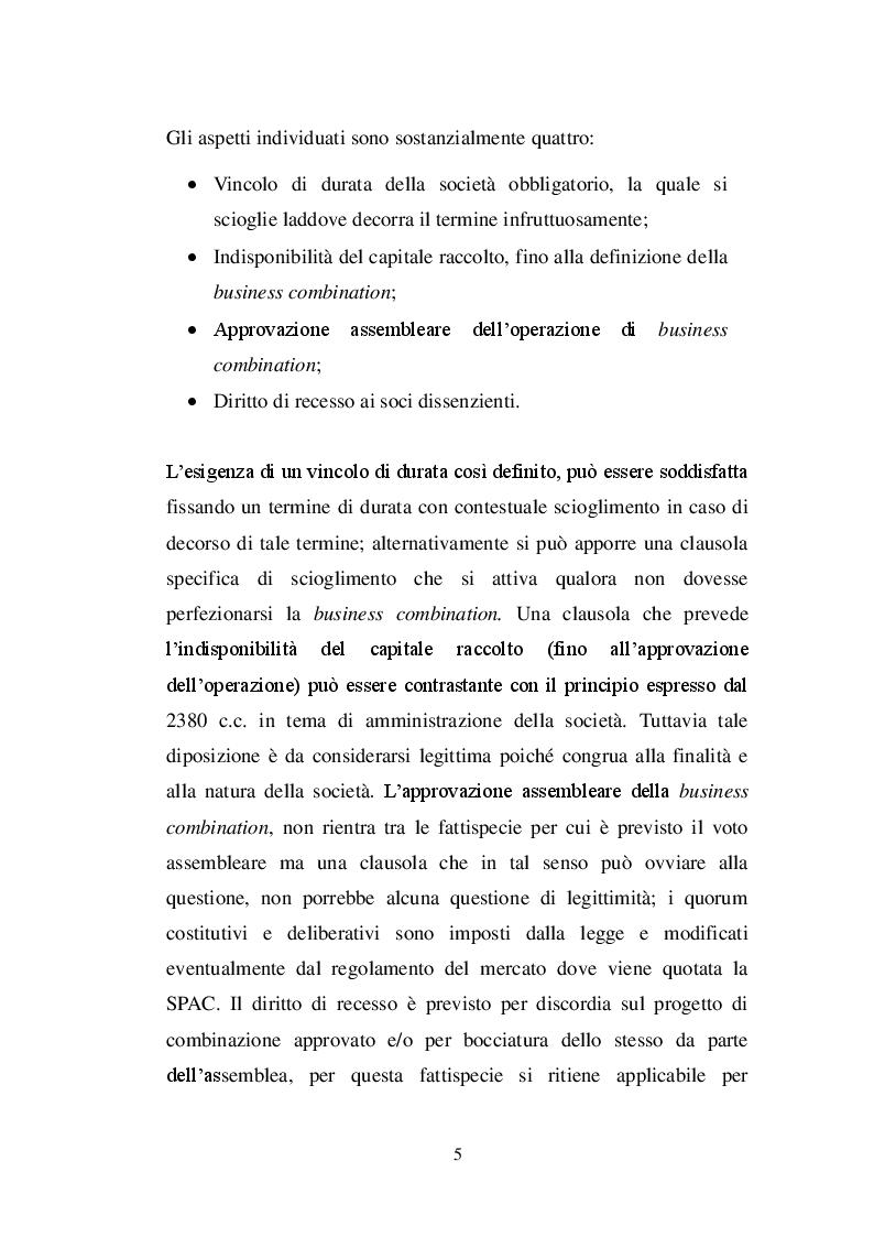 Anteprima della tesi: La SPAC: un veicolo innovativo nel sistema finanziario italiano, Pagina 6
