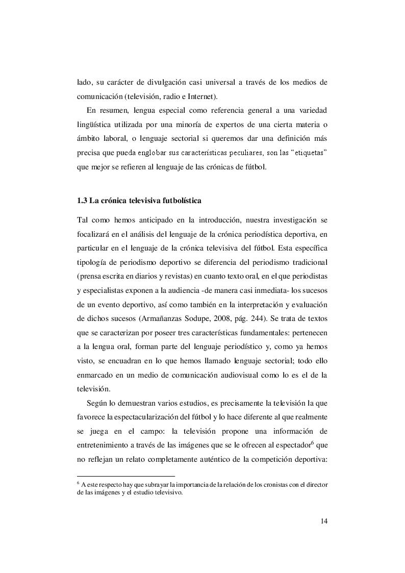 Estratto dalla tesi: El lenguaje del fútbol: un abordaje contrastivo italiano - español de las crónicas futbolísticas del Mundial de Rusia de 2018
