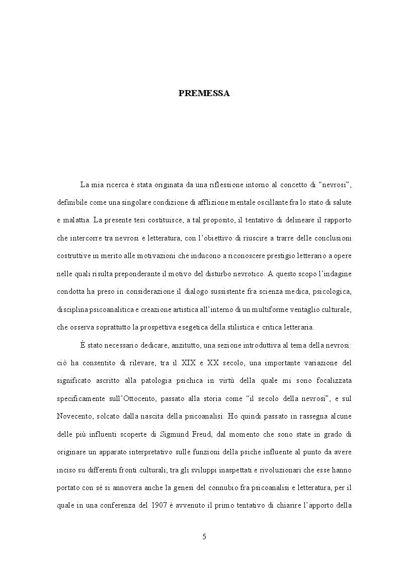 """Anteprima della tesi: Il prestigio letterario della nevrosi. Rappresentazioni del doppio in """"Fosca"""" di Igino Ugo Tarchetti, Pagina 2"""