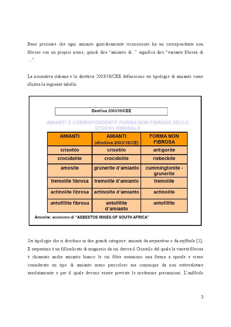 Anteprima della tesi: Valutazione e gestione del rischio amianto nelle strutture edilizie, Pagina 4