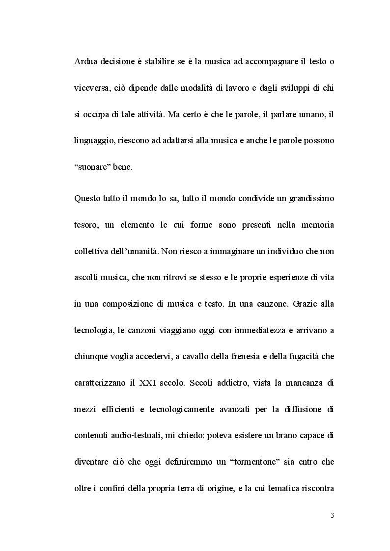 Anteprima della tesi: Fortune my Foe, tradurre la poesia e la canzone, Pagina 3