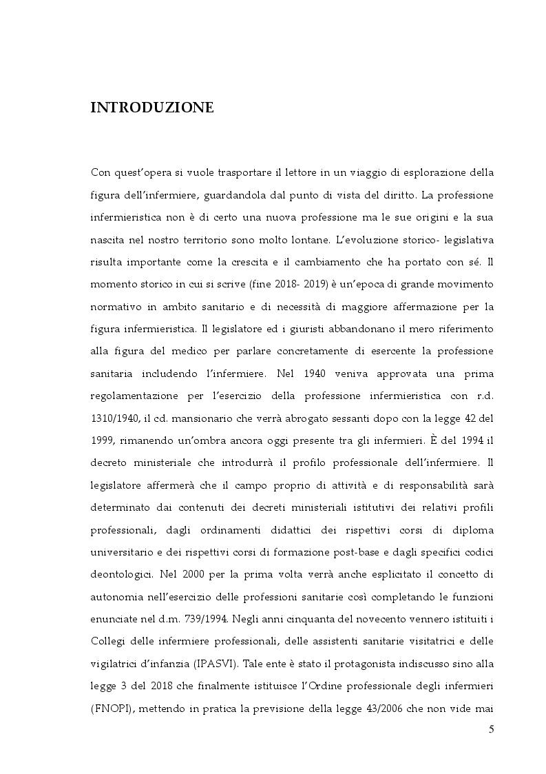 Anteprima della tesi: La responsabilità professionale dell'infermiere: risk management e le nuove frontiere dell'infermieristica forense, Pagina 2