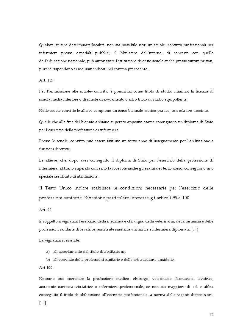 Anteprima della tesi: La responsabilità professionale dell'infermiere: risk management e le nuove frontiere dell'infermieristica forense, Pagina 9