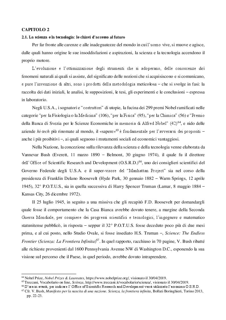 Anteprima della tesi: Il cortocircuito dell'immaginario americano come fondamento della U.S. Space Force, Pagina 2