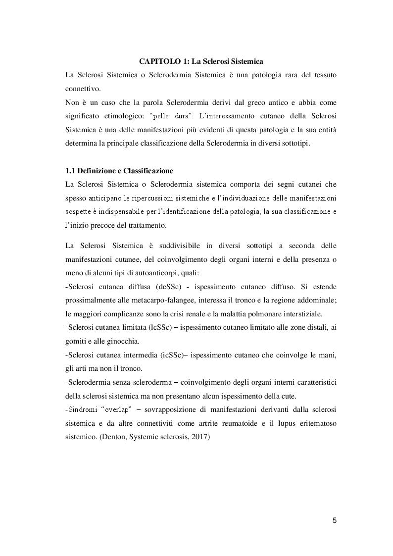 Anteprima della tesi: Ulcere digitali nei pazienti con Sclerosi Sistemica, Pagina 4