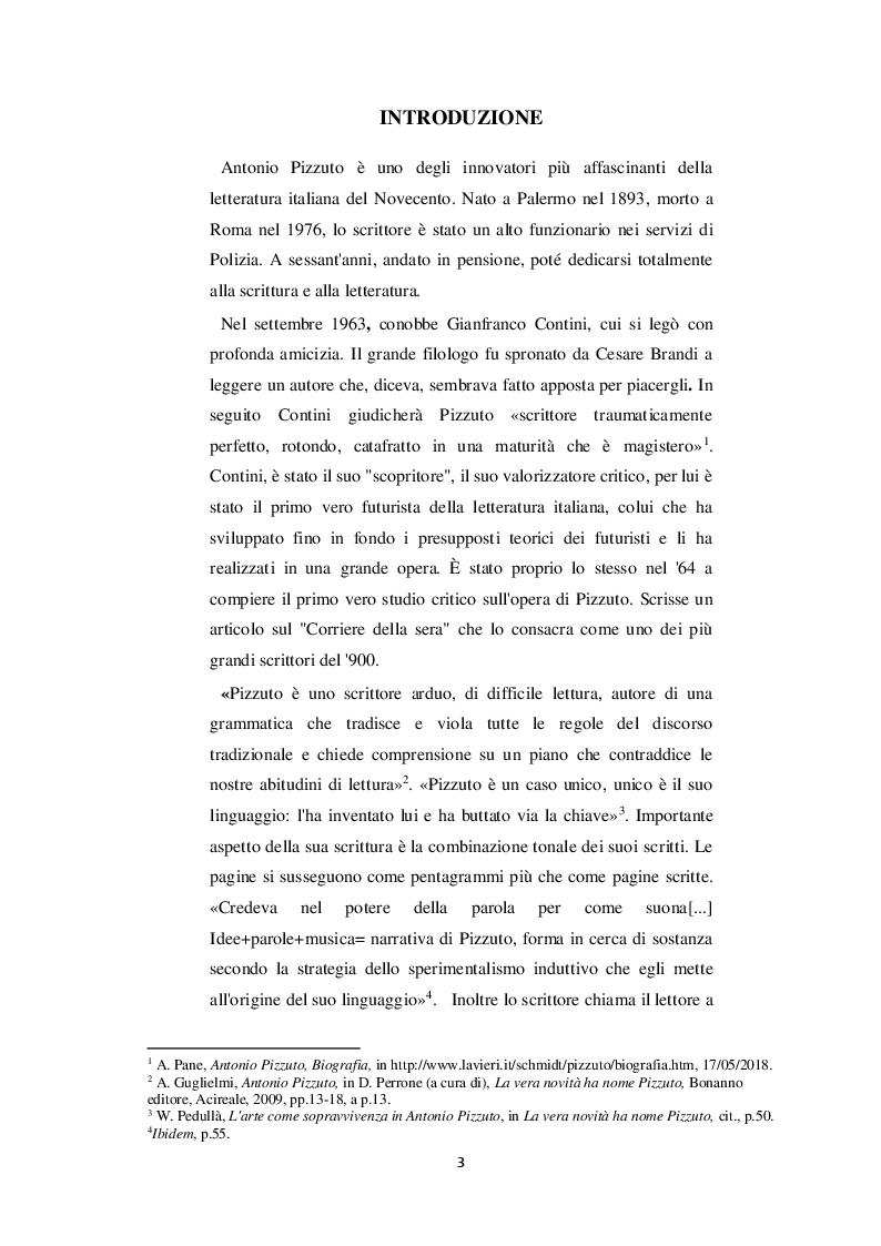 Anteprima della tesi: Castronovo e i suoi personaggi nelle opere di Antonio Pizzuto, Pagina 2