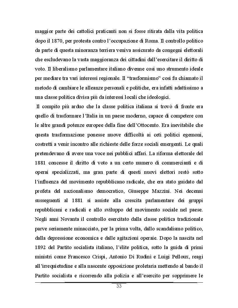 Anteprima della tesi: Alle origini del movimento fascista: il programma sansepolcrista, Pagina 4