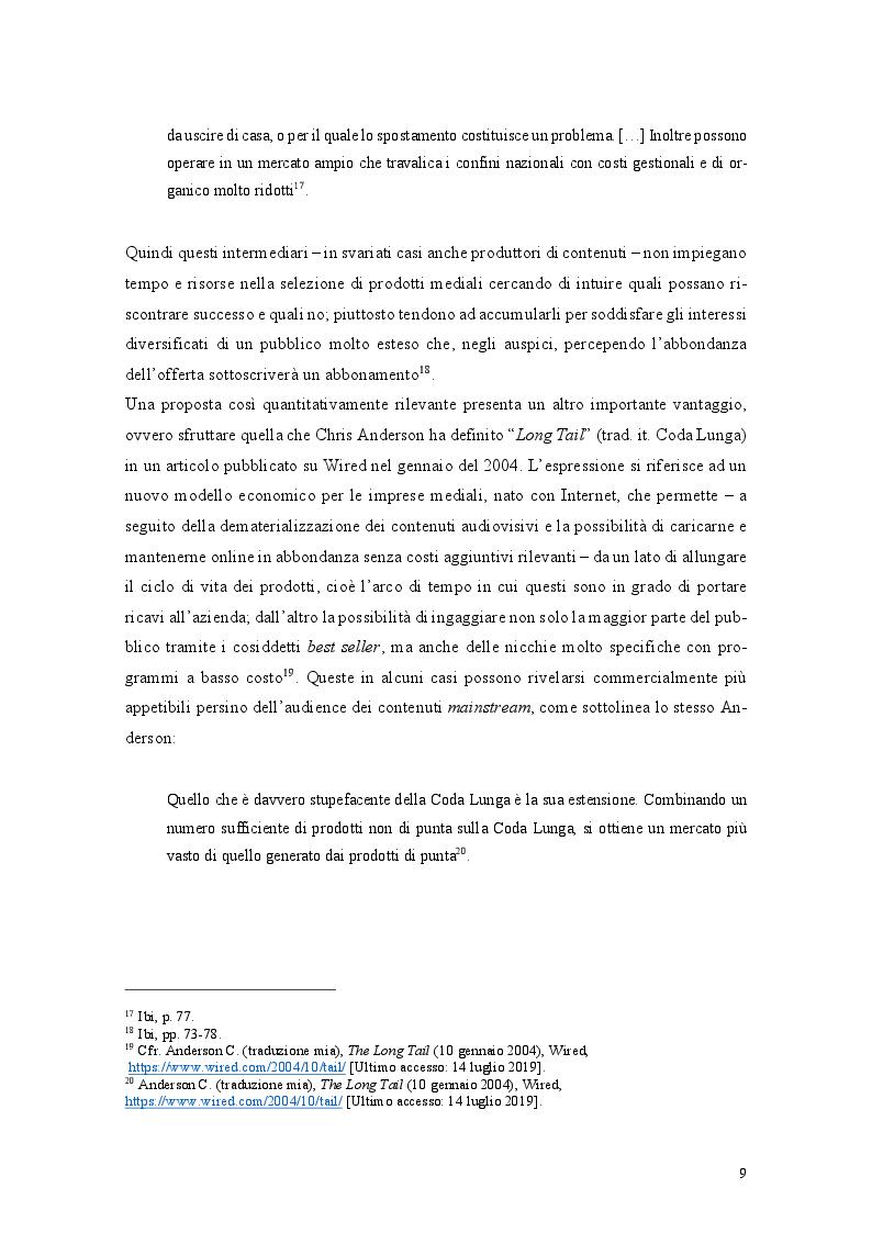 Anteprima della tesi: I nuovi player over-the-top nel settore dell'audiovisivo e il caso di DAZN, Pagina 8