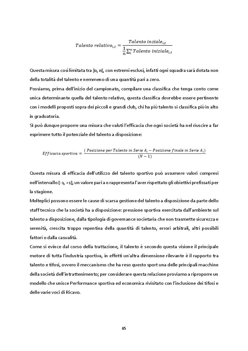 Anteprima della tesi: Le determinanti economiche della performance sportiva: un'evidenza empirica dal campionato di calcio di Serie A, Pagina 8