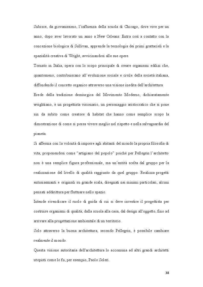 Anteprima della tesi: L'influenza di Wright e dell'architettura organica in Italia. La biblioteca civica Luigi Einaudi e l'Istituto scolastico Marchesi, Pagina 3