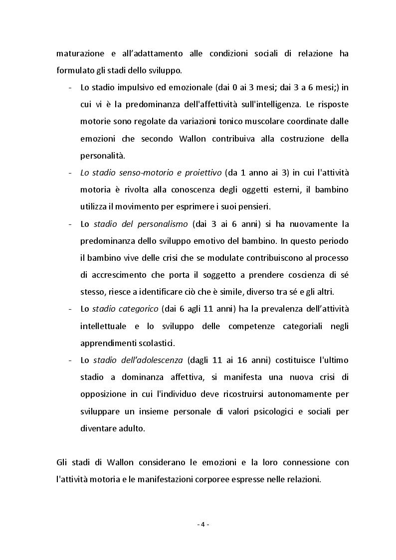 Anteprima della tesi: Psicomotricità funzionale e disturbo dello spettro autistico, Pagina 5