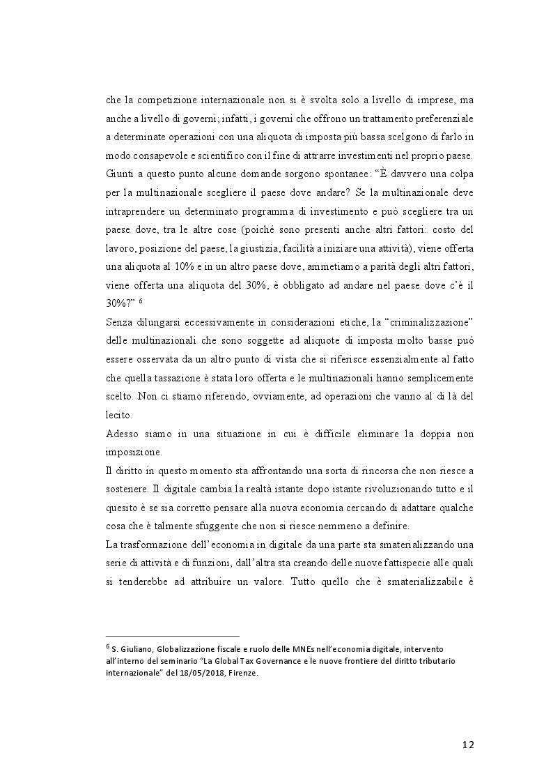 Estratto dalla tesi: Tassazione dell'economia digitale: Web Tax e Digital Tax