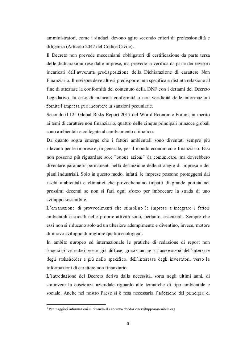 Anteprima della tesi: La dichiarazione di carattere non finanziario: l'informativa sul capitale umano, Pagina 6
