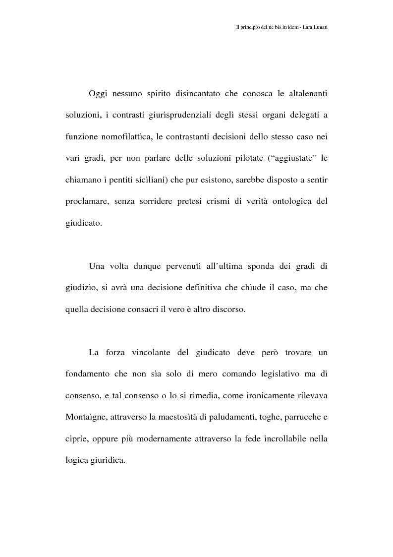 Anteprima della tesi: Il principio del ne bis in idem e il giudicato penale, Pagina 3