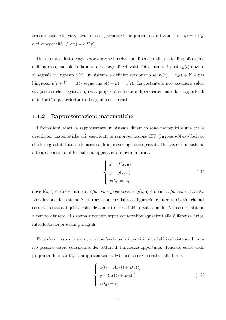 Anteprima della tesi: Implementazione di algoritmi di Controllo Predittivo vincolato in Matlab/Simulink, Pagina 5
