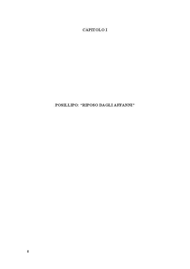Anteprima della tesi: Pausilypon: la villa di Vedio Pollione e dell'imperatore Augusto, Pagina 6