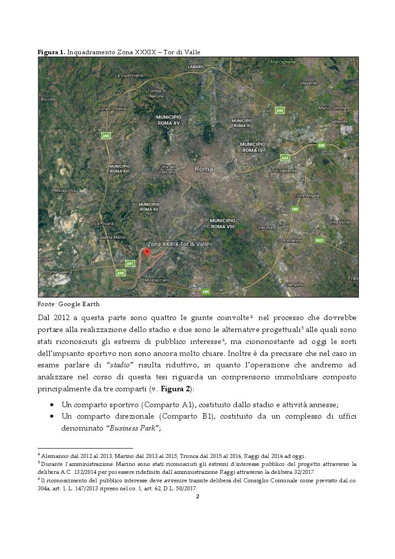 Anteprima della tesi: Lo Stadio di Tor di Valle: una questione controversa, Pagina 3