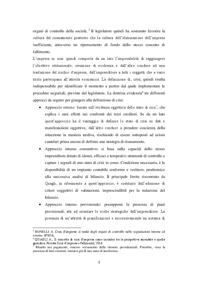 Anteprima della tesi: I principi di redazione dei piani di risanamento, Pagina 6