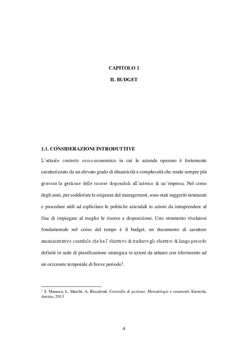 Anteprima della tesi: L'Activity Based Budget, Pagina 2