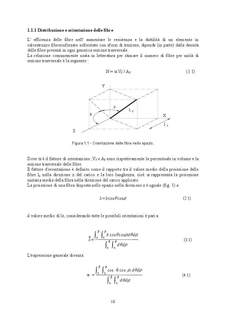 Anteprima della tesi: Comportamento di strutture in calcestruzzo con armatura diffusa, Pagina 6
