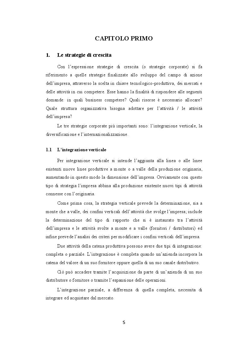 Anteprima della tesi: Le modalità di attuazione delle strategie di crescita: il caso Pirelli S.p.A. - ChemChina, Pagina 3