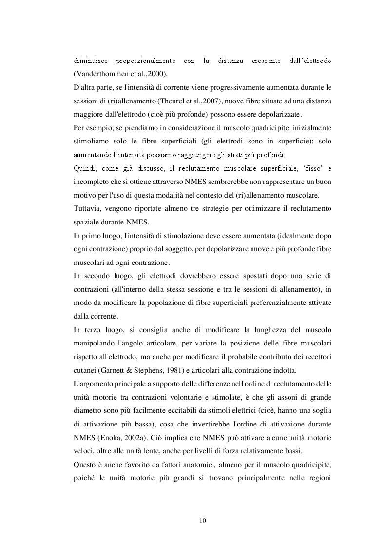 Estratto dalla tesi: EMS Total Body: principi e applicazioni