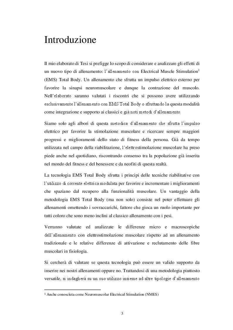 Anteprima della tesi: EMS Total Body: principi e applicazioni, Pagina 2