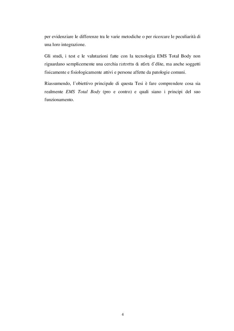 Anteprima della tesi: EMS Total Body: principi e applicazioni, Pagina 3