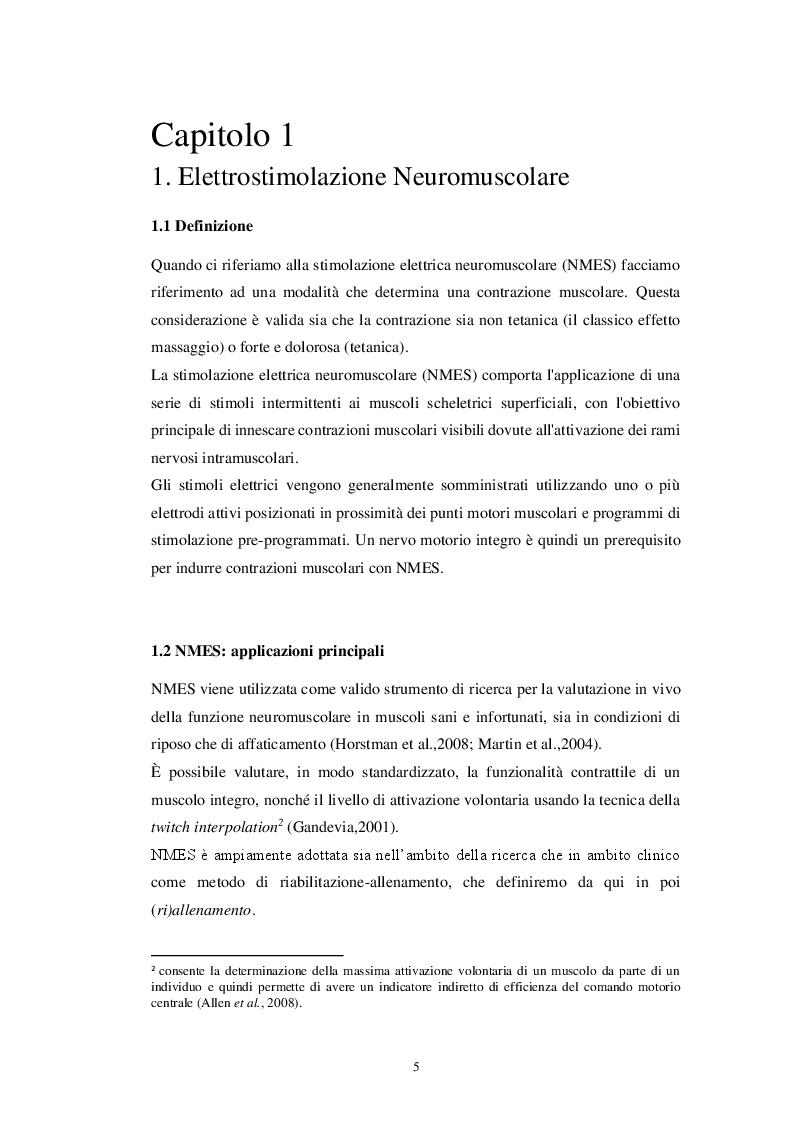 Anteprima della tesi: EMS Total Body: principi e applicazioni, Pagina 4
