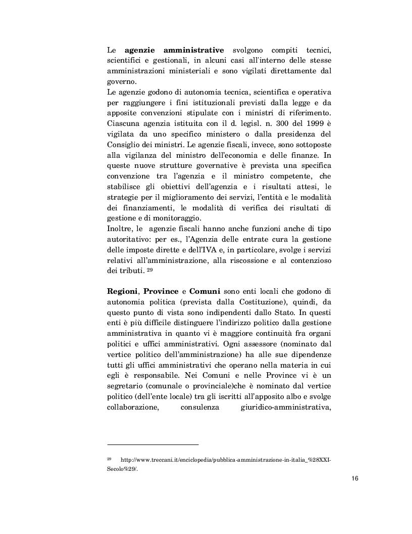 Estratto dalla tesi: Il Capitale intellettuale nelle Pubbliche Amministrazioni: misurazione e reporting