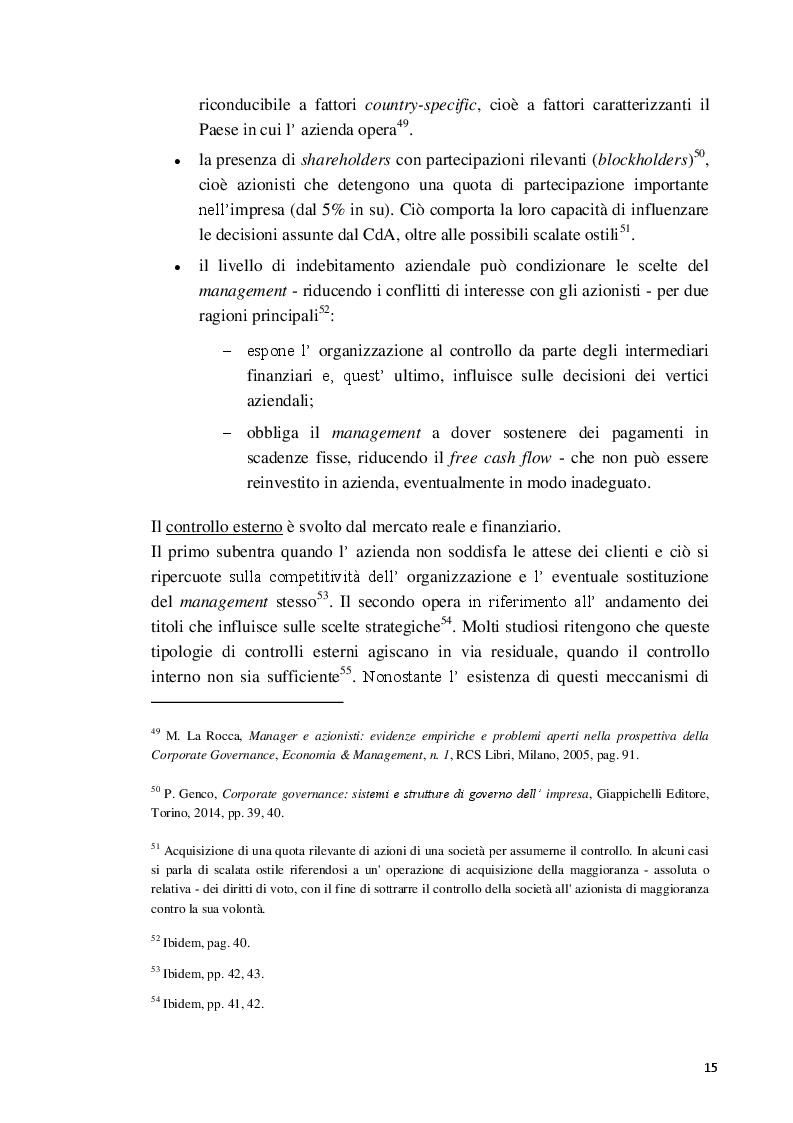 Estratto dalla tesi: La Balanced Scorecard a supporto dell'attività direzionale: criticità e profili innovativi