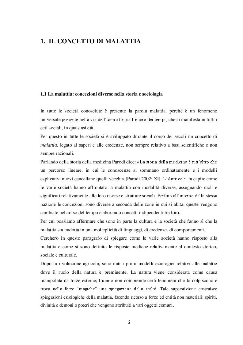 Anteprima della tesi: Uno studio qualitativo sui pazienti affetti da Diabete di tipo 1, Pagina 3