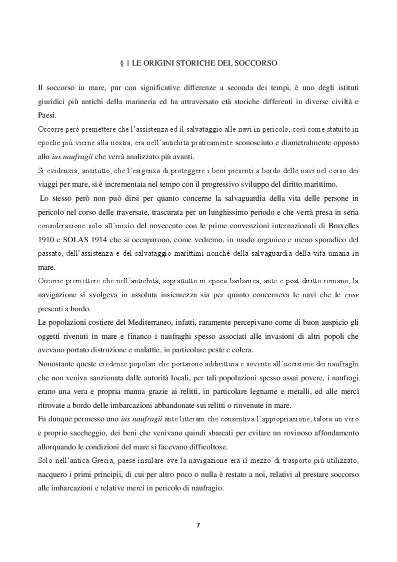 Anteprima della tesi: La disciplina del soccorso in mare: pericolo e tutela dell'ambiente, Pagina 3
