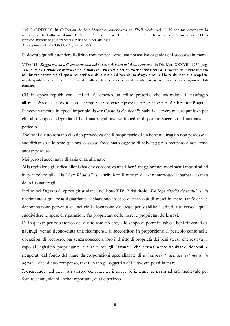 Anteprima della tesi: La disciplina del soccorso in mare: pericolo e tutela dell'ambiente, Pagina 4