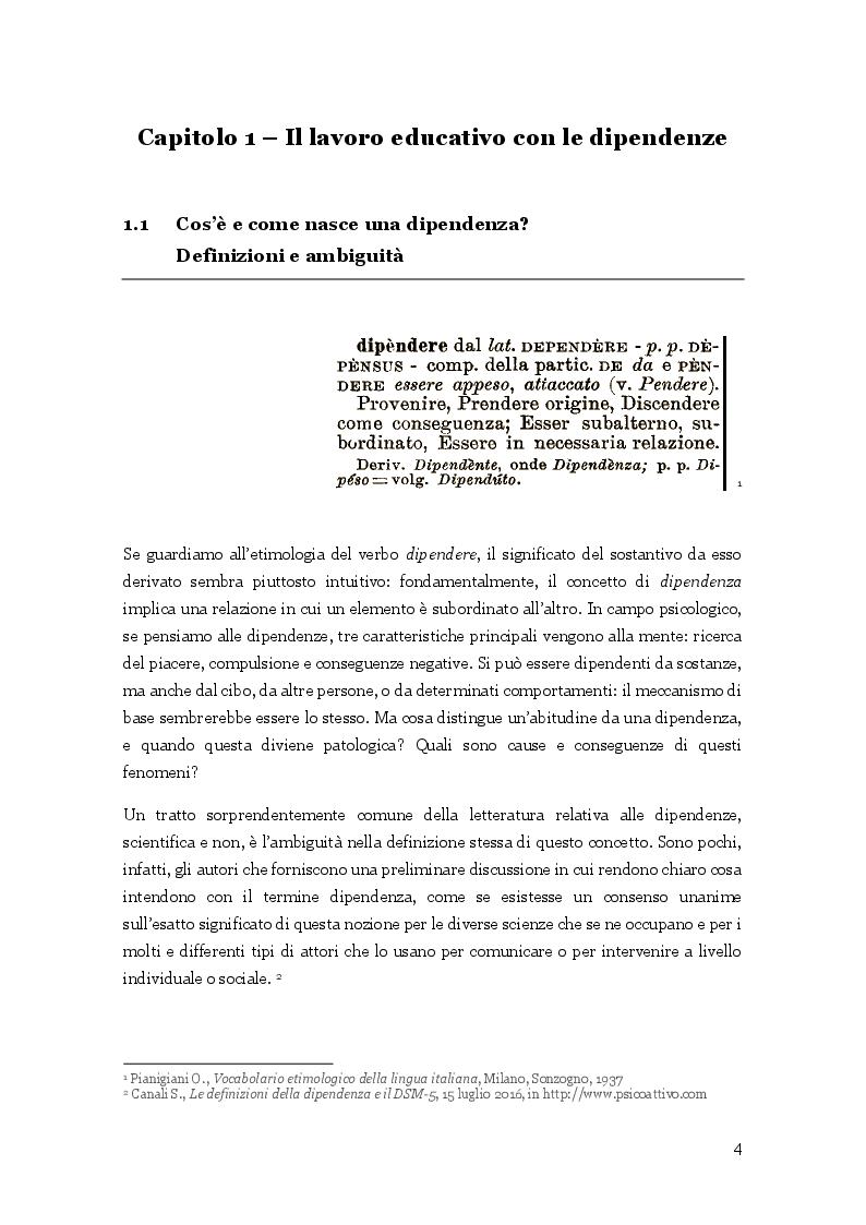 Anteprima della tesi: L'arte nella cura delle dipendenze patologiche, Pagina 5