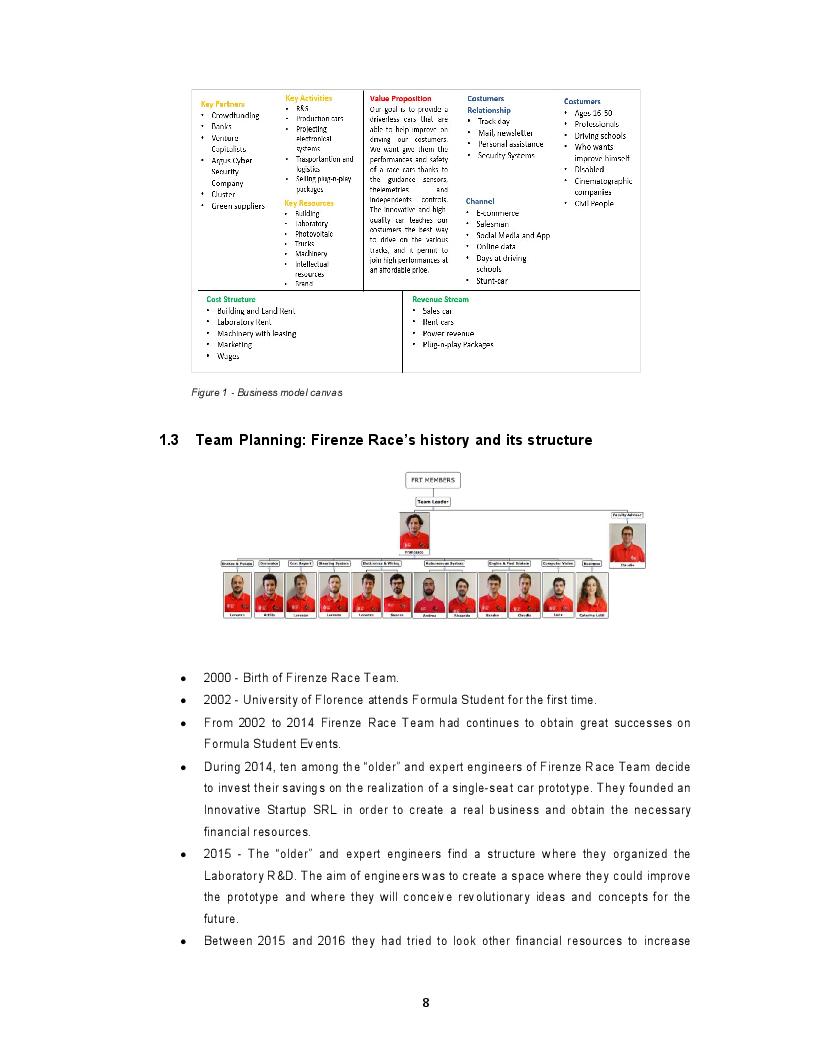 Anteprima della tesi: Business Plan for an Autonomous Driving Formula car in the FSG17 competition, Pagina 5