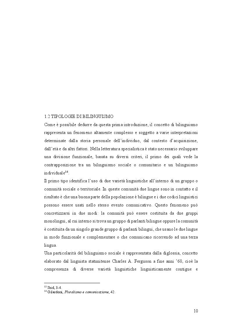Anteprima della tesi: Istruzione primaria e identità nazionale italiana nell'era delle ''scuole bilingui'', Pagina 2