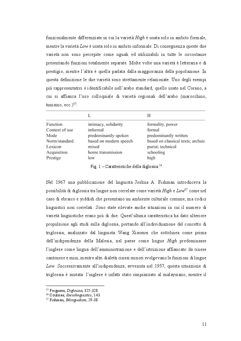 Anteprima della tesi: Istruzione primaria e identità nazionale italiana nell'era delle ''scuole bilingui'', Pagina 3
