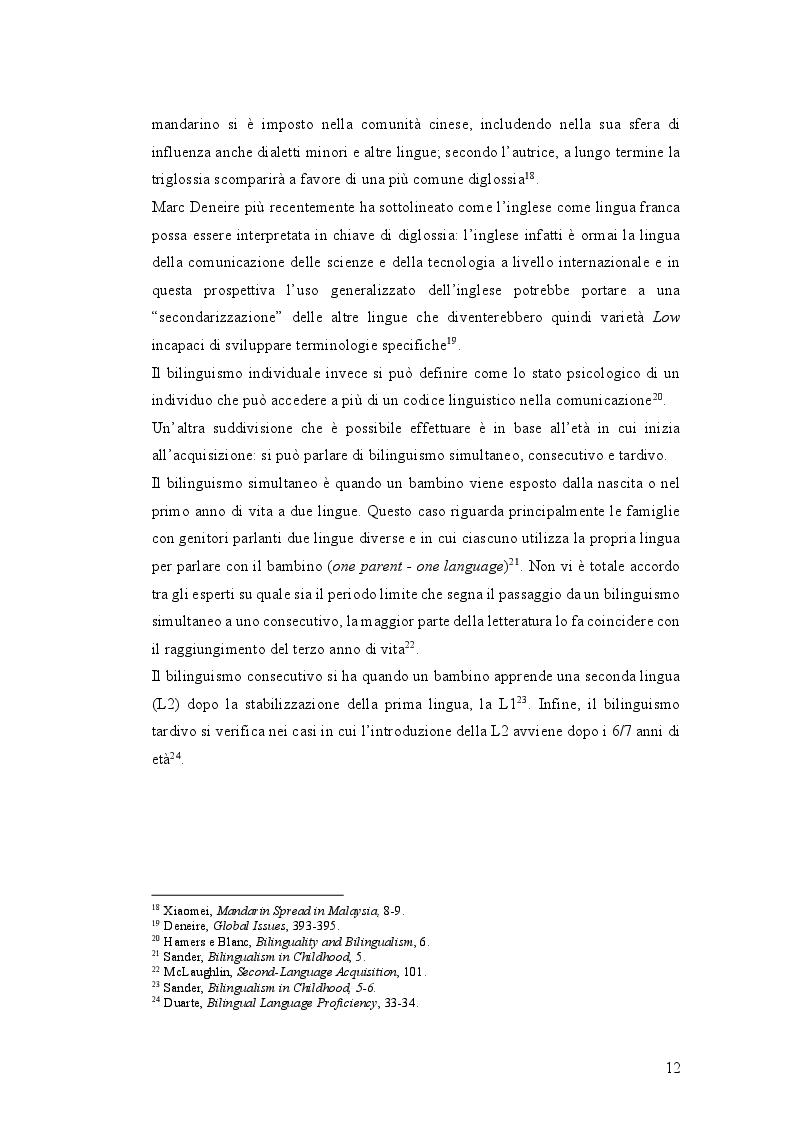 Anteprima della tesi: Istruzione primaria e identità nazionale italiana nell'era delle ''scuole bilingui'', Pagina 4