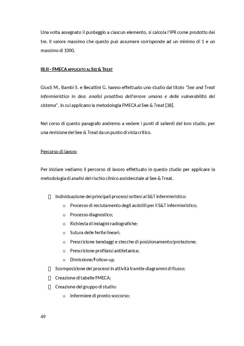 Anteprima della tesi: Il See & Treat in Pronto Soccorso. Uno studio retrospettivo quali-quantativo, Pagina 5