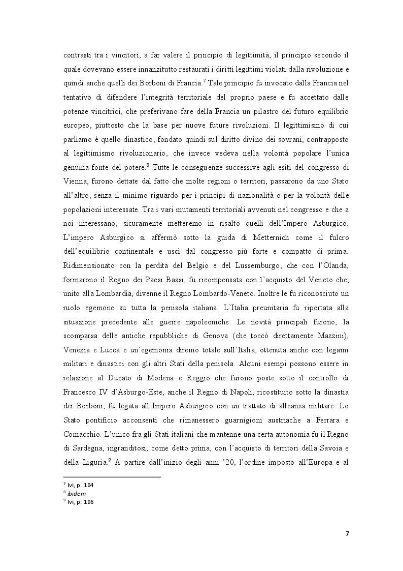 Anteprima della tesi: Repubblica Romana, Comune di Parigi: momenti del pensiero mazziniano, Pagina 6