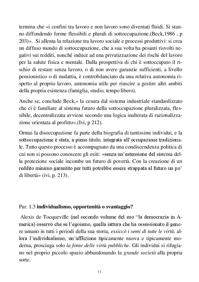 Anteprima della tesi: Vite a perdere: viaggio nei percorsi di inclusione sociale degli homeless, Pagina 6