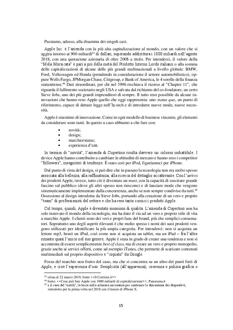 Anteprima della tesi: Competitor e tensioni strategiche del mercato degli smartphone, Pagina 3