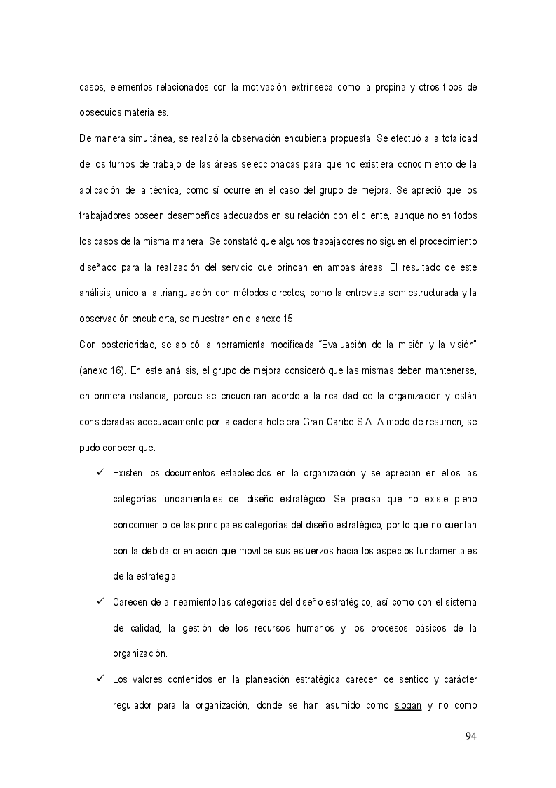 Anteprima della tesi: La gestión del sistema de calidad basado en valores en los servicios hoteleros, Pagina 10