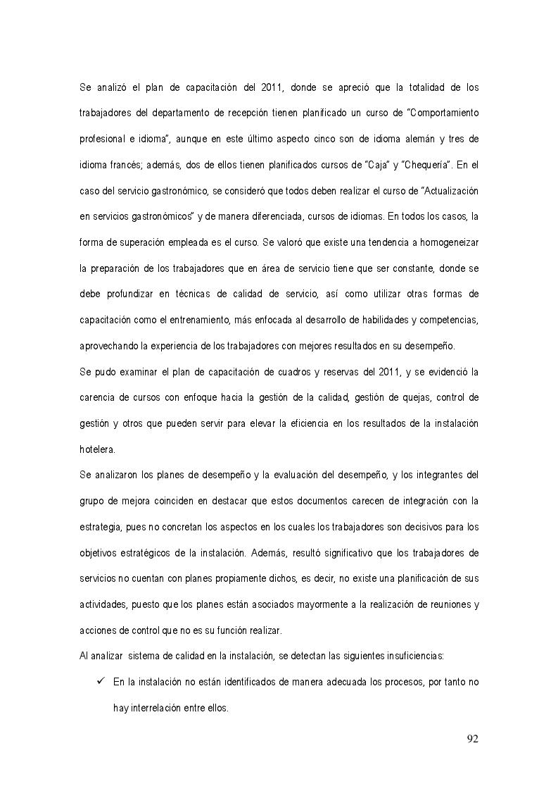 Anteprima della tesi: La gestión del sistema de calidad basado en valores en los servicios hoteleros, Pagina 8