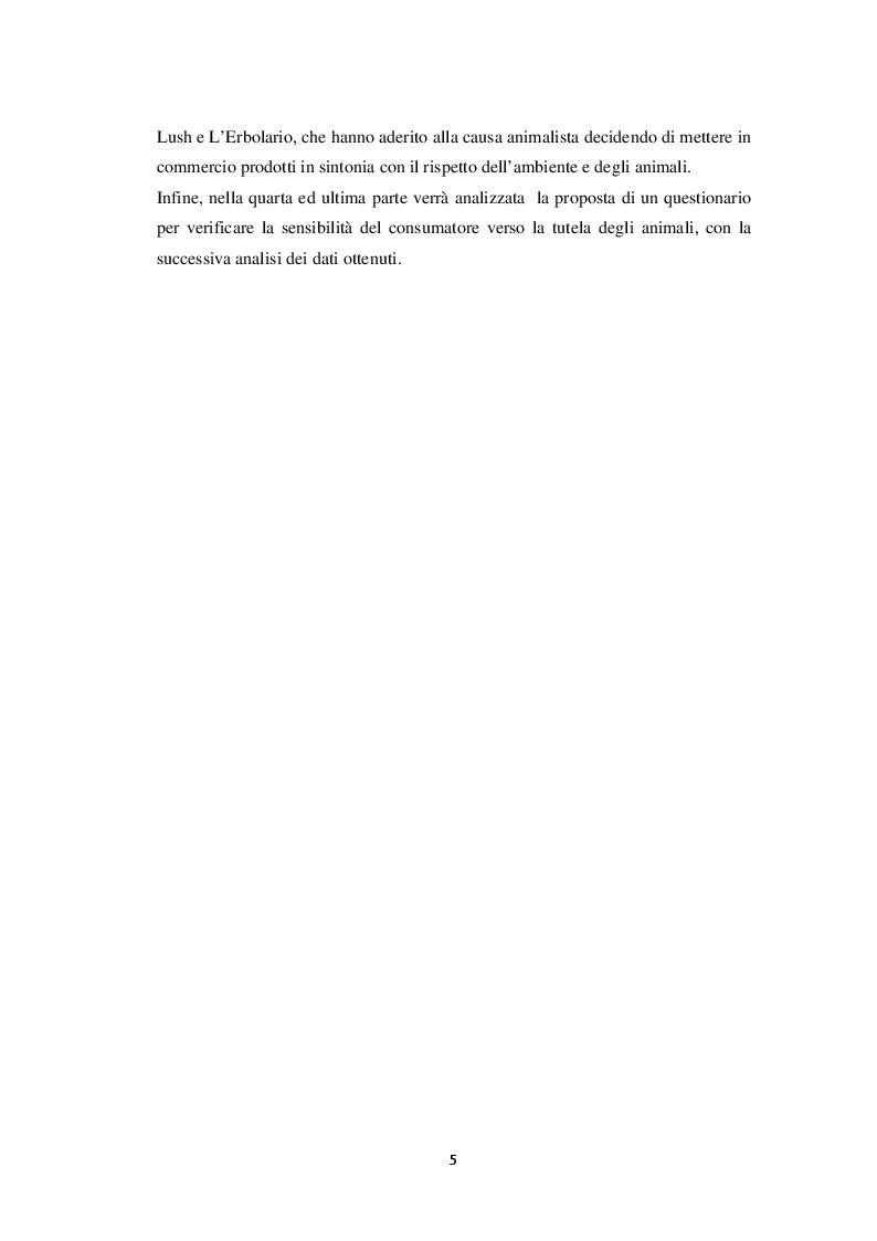 """Anteprima della tesi: L'influenza del fattore """"cruelty free"""" nel comportamento d'acquisto del consumatore: un'indagine empirica, Pagina 3"""