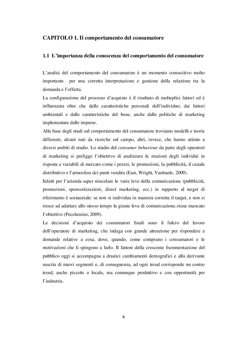 """Anteprima della tesi: L'influenza del fattore """"cruelty free"""" nel comportamento d'acquisto del consumatore: un'indagine empirica, Pagina 4"""