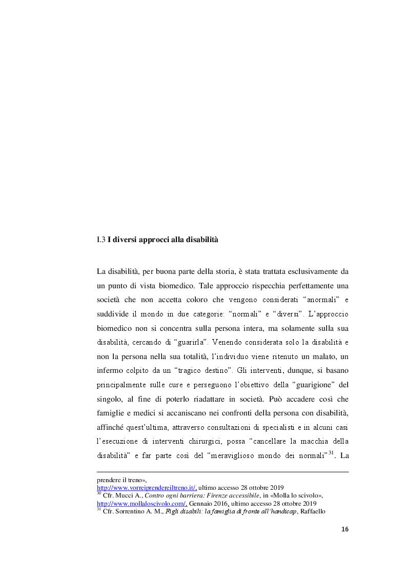 Anteprima della tesi: I valori familiari alla prova della disabilità. Realtà e narrazione cinematografica, Pagina 2