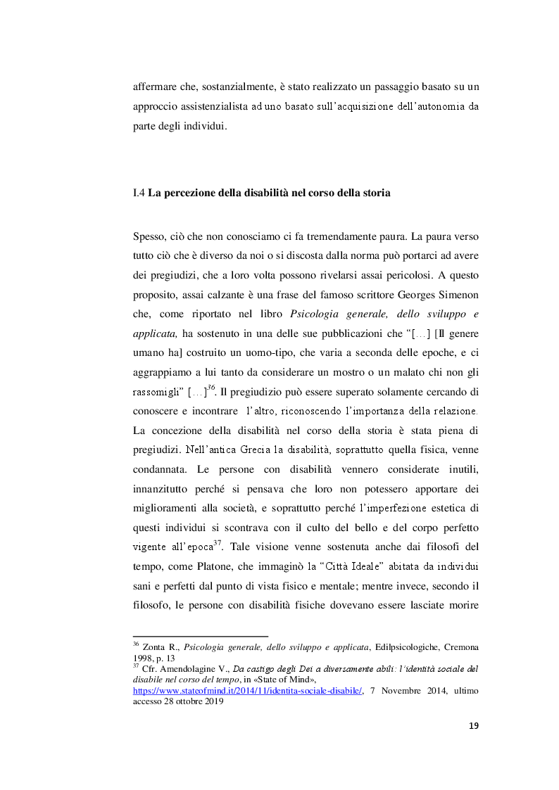Anteprima della tesi: I valori familiari alla prova della disabilità. Realtà e narrazione cinematografica, Pagina 5