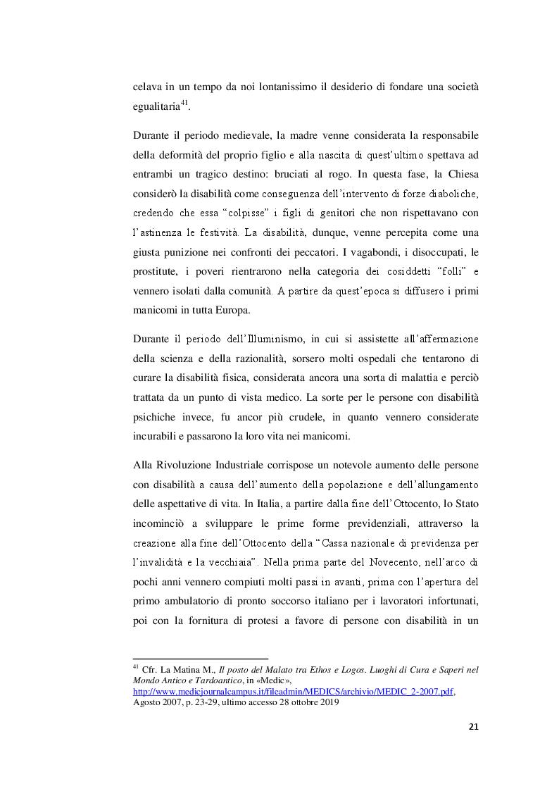 Anteprima della tesi: I valori familiari alla prova della disabilità. Realtà e narrazione cinematografica, Pagina 7
